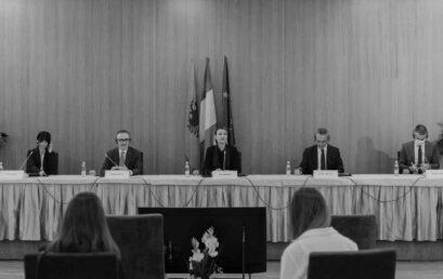 Press Conference in Tirana
